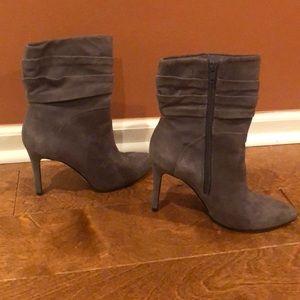 Guess Grey suede booties